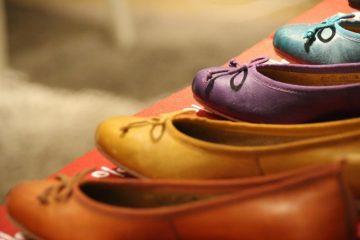 kolorowe balerinki